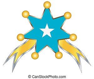 εθνικός , μετάλλιο , σημαία , σομαλία