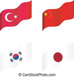 εθνικός , σημαίες