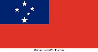 εθνικός , samoa , σημαία