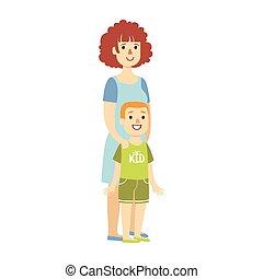 ειδών ή πραγμάτων , σειρά , εικόνα , υιόs , μητέρα , μικρό , ευτυχισμένος , τρυφερός