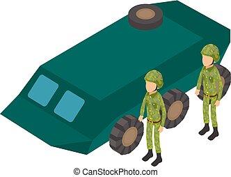 εικόνα , άλεσα , στρατεύματα , ρυθμός , isometric