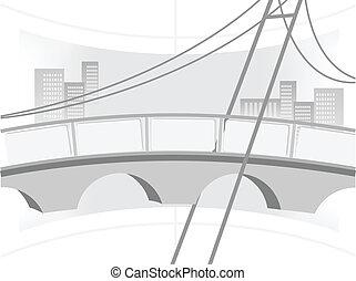 εικόνα , από , ο , γέφυρα