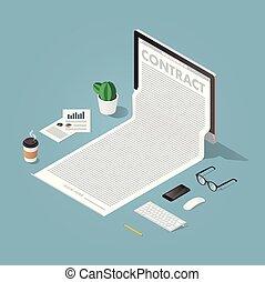 εικόνα , εργαζόμενος , γενική ιδέα , έγγραφα