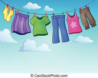 εικόνα , θέμα , 2 , γραμμή , ρουχισμόs , ρούχα