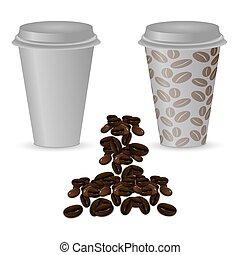 εικόνα , καφέ άγιο δισκοπότηρο , δυο , πλαστικός , coffee:,...
