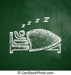 εικόνα , κοιμάμαι