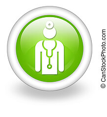 εικόνα , κουμπί , pictogram , γιατρός