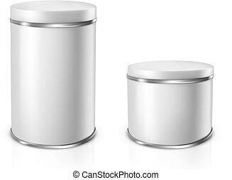 εικόνα , μικροβιοφορέας , κασσίτερος , cans.
