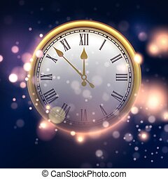 εικόνα , μικροβιοφορέας , clock., φόντο , έτος , καινούργιος , ευτυχισμένος