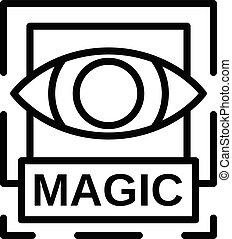 εικόνα , περίγραμμα , μαγεία , ρυθμός , μάτι