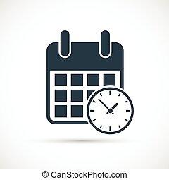 εικόνα , ρολόι , ημερολόγιο