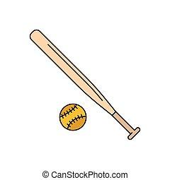 εικόνα , ρυθμός , μπέηζμπολ , γελοιογραφία