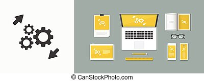 εικόνα , - , ταχύτητες , εργαζόμενος , δίκτυο