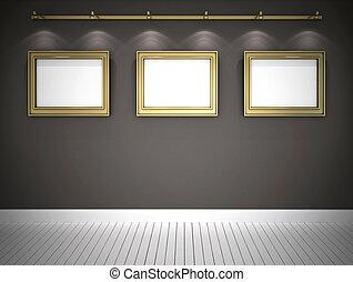 εικόνες , γκαλερί , κόκκινο , τρία