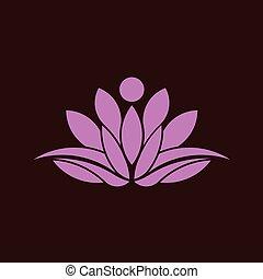 ειρήνη , γενική ιδέα , γιόγκα , image., λωτός , αφαιρώ , relax., μικροβιοφορέας , πνευματικότητα , εικόνα