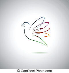 ειρήνη , περιστέρα