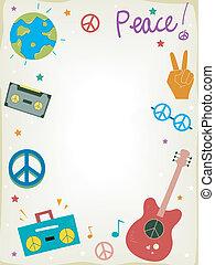ειρήνη , φόντο