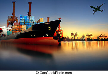 εισάγω , εναντίον , αγγείο , πλοίο , φόρτωση , μεταφορά , ...