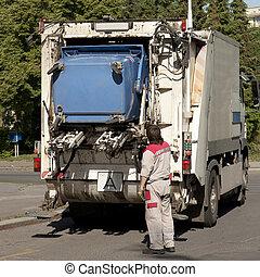 εισπράκτορας , σκουπίδια