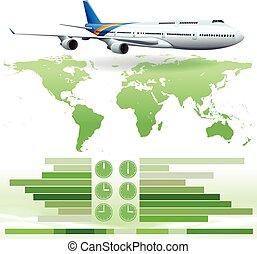 εκδήλωση , αεροπλάνο , infochart