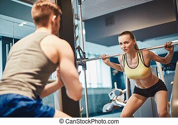 εκπαίδευση , weightlift