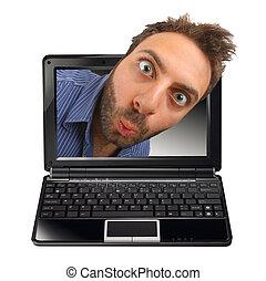 εκπληκτική επιτυχία , έκφραση , laptop