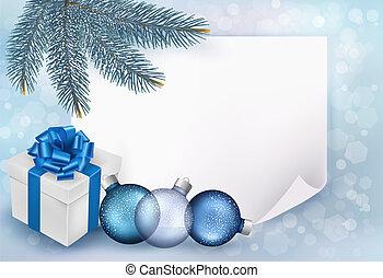 ελάτη , αρχίδια , branches., εικόνα , μικροβιοφορέας , φόντο , xριστούγεννα