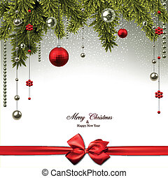 ελάτη , balls., βγάζω κλαδιά , xριστούγεννα , φόντο