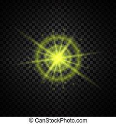 ελαφρείς , λαμπερός , ακτινοβολώ , κίτρινο