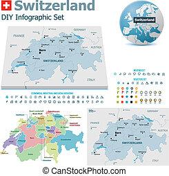 ελβετία , αντιστοιχίζω , δείκτης