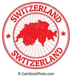 ελβετία , γραμματόσημο