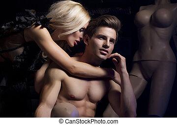 ελκυστικός προς το αντίθετον φύλον , ζευγάρι