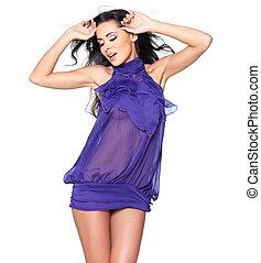 ελκυστικός προς το αντίθετον φύλον , φόρεμα