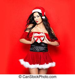 ελκυστικός προς το αντίθετον φύλον , santa