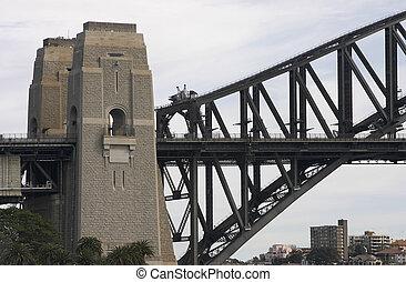 ελλιμενίζομαι γέφυρα , πυλώνας