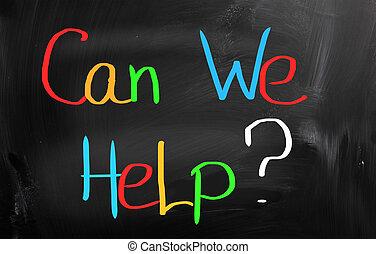 εμείς , γενική ιδέα , μπορώ , βοήθεια