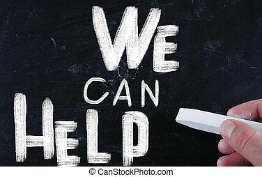 εμείς , μπορώ , βοήθεια