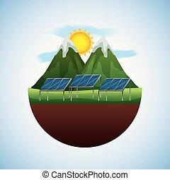 ενέργεια , οικολογικός , άνθρωπος