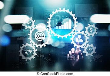 ενδυμασία , επιχείρηση , workflow , διαδικασία , διεύθυνση , concept., απεικόνιση , αυτοματισμός , βαραίνω , επικύρωση , συνδεδεμένος , έγγραφο , τεχνολογία