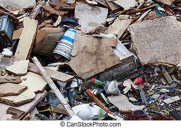 ενισχύω , από , σκουπίδια