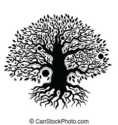 εξαίσιος ανθρώπινες ζωές , κρασί , δέντρο , χέρι , μετοχή του draw