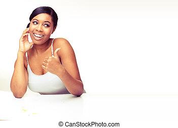 εξαίσιος γυναίκα , αφρικανός