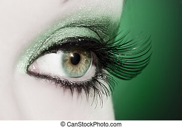 εξαίσιος γυναίκα , μάτι