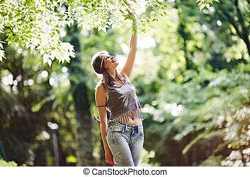 εξαίσιος γυναίκα , φύση