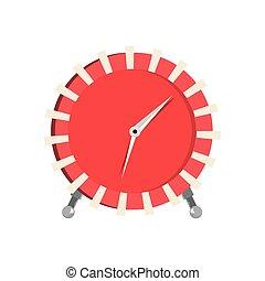 εξοπλισμός , άσπρο , ώρα , φόντο , ρολόι
