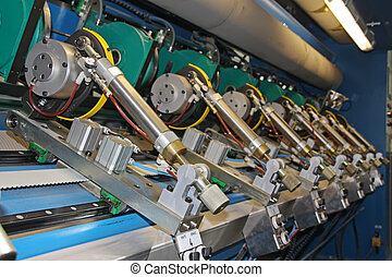 εξοπλισμός , μύλοs , χαρτί , ακρίβεια , μηχανήματα