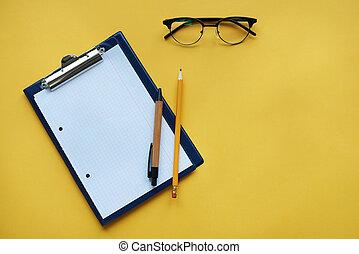 εξοπλισμός , clipboard , άλλος , γραφείο