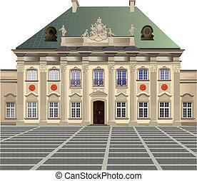 εξωτερική φλούδα , blacha, παλάτι