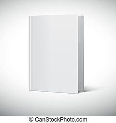 εξώφυλλο βιβλίου , κενό