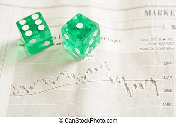 επένδυση , ριψοκινδυνεύω